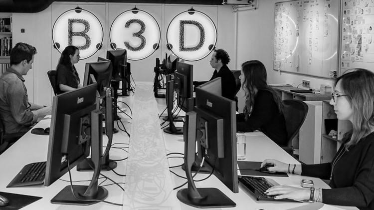 B3D Architecten team - Lichtplan